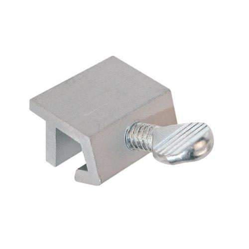 Defender Security U 9819 Sliding Window Security Lock, Economy, Aluminum,(Pack of 4)