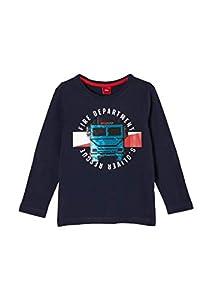 s.Oliver Junior Jungen 404.10.011.12.130.2054453 T-Shirt, 5952, 128-134