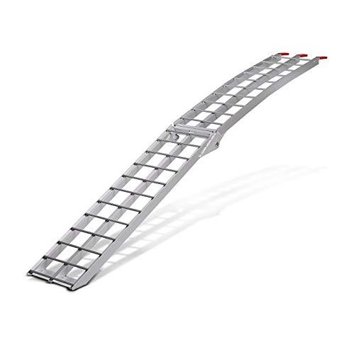 Rampa de carga aluminio ConStands II, max. 340 kg, plegable, por moto,...