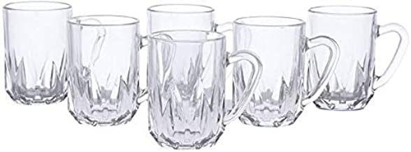 Luminarc DD7229 Artic Tea Set of 6 Piece,Tumbler Glass Clear, W 31.2 x H 9.0 x L 5.2 cm