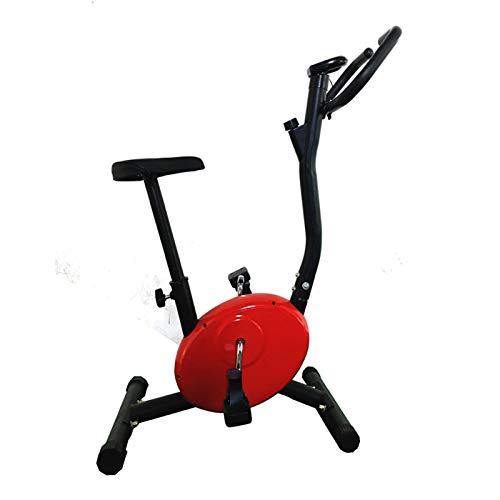 Bicicleta estática Plegable, con Asiento Acolchado y Consola LCD, para el hogar, Oficina, Gimnasio, Ejercicio