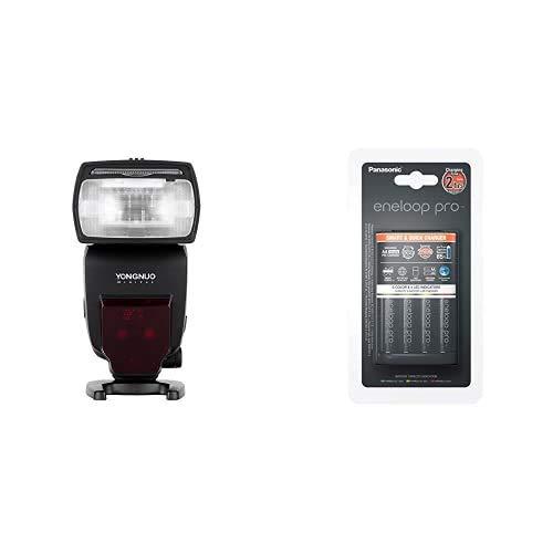 YONGNUO YN685 YN-685 (YN-568EX II Versión Mejorada) Inalámbrico HSS TTL Speedlite + Panasonic Cargador rápido Inteligente