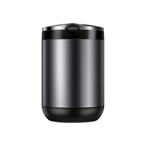 YHNJM Cenicero, Coche LED con Resistencia a Alta Temperatura Luz Taza de Aluminio Copa de Aluminio Portátil Auto Cenicero Auto Cenicero Retardante Caja de Cigarrillo para Oficina y hogar