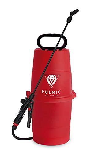 Pulmic Pulverizador Agua Raptor 7. Presión Manual. Pulverizador Herbicidas, Insecticidas y Fungicidas. Lanza en Fibra de Vidrio. Hasta 7L. Con Bomba