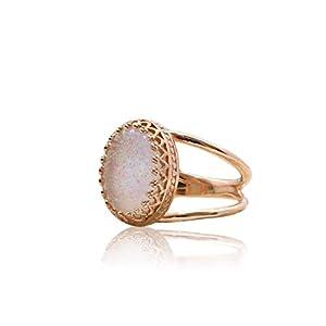 Vintage Antique 14K Rose Gold Opal Ring