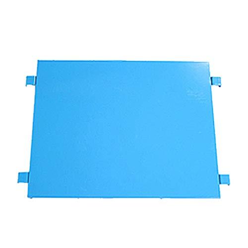 カゴ台車 カゴ車 オプション 棚板 中間棚板 W100×D80×H170(cm)台車用(1枚) (ブルー)
