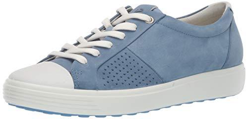 ECCO Damen Schnuerschuhe Soft 7 W 430783/55569 blau 654660