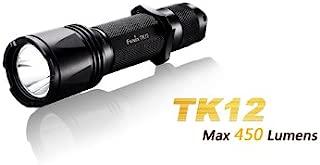 Fenix TK12 Cree XP-G2 (R5) LED 18650 CR123A 450 Lumens Tactical Flashlight Torch