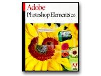 Adobe Photoshop Elements - ( v. 2.0 ) - complete package - 1 user - CD - Win, Mac - German