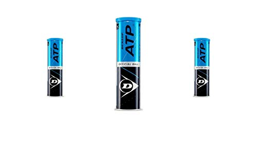 Dunlop ATP offz. Tour Tennisball 3 x 4er Dosen 12 Bälle
