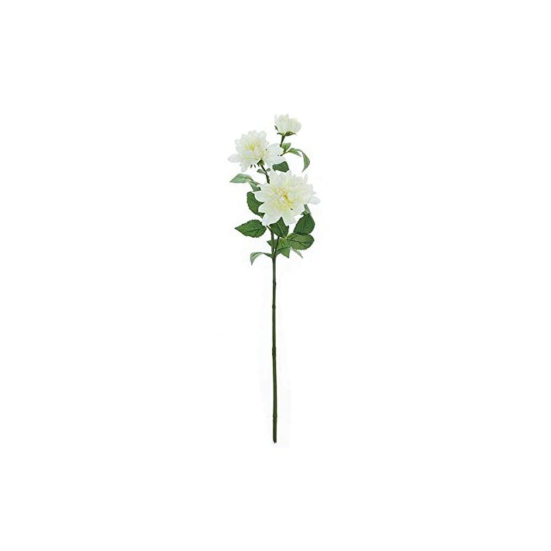 silk flower arrangements balsacircle 2 ivory 30-inch tall dahlia spray stems silk artificial flowers - party wedding centerpieces arrangements bouquets supplies