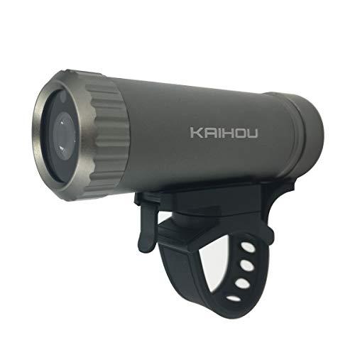 【カイホウジャパン/KAIHOU】 100万画素FULL HD 防水防滴仕様自転車用ドライブレコーダー 【品番】KH-BDR100