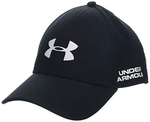 Under Armour Men's Golf Headline 2.0 Cap Gorra, Hombre, Negro (Black/White 002), M/L
