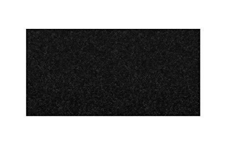 Rotolo Moquette Adesiva liscia 70x150 cm colore nero fonoassorbente rivestimento acustico Auto pannelli