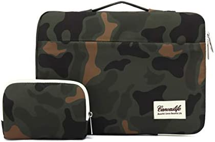 canvaslife 360 Protective 13 inch 13 5 inch Waterproof Laptop Case Bag Sleeve with Handle for product image