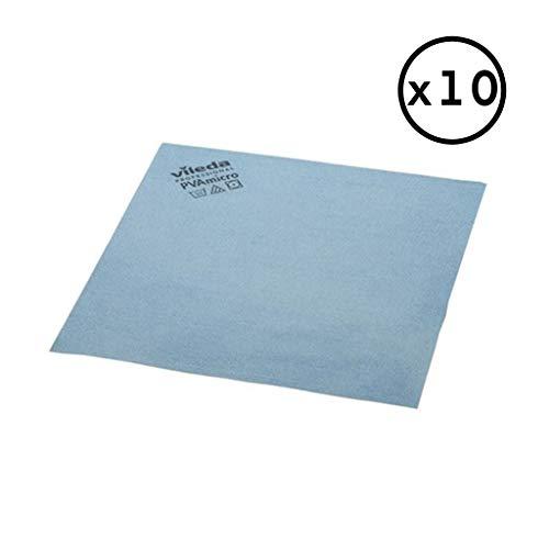 Desconocido Vileda Pack Bayeta PVA Micro (Azul, Pack 10 Bayetas)
