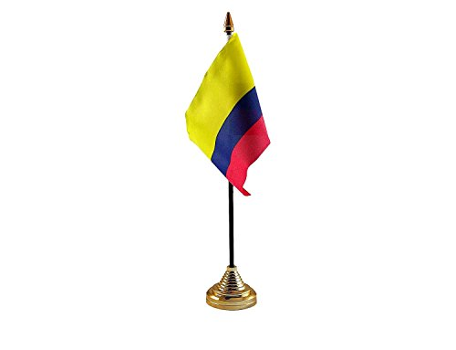 Drapeau de la Colombie ou à agiter - Sans base