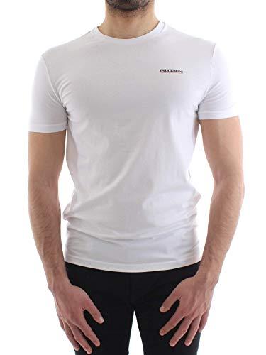 DSQUARED2 T-Shirt Uomo Mod. D9M203040 100 White XL