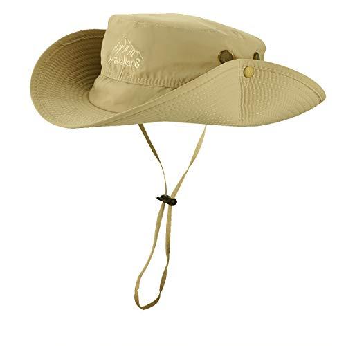 Veatree Sombrero de ala Ancha/Sombreros de Pesca para Hombre y Mujer,