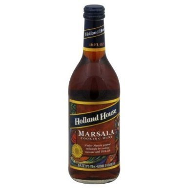 Holland House Marsala Cooking Wine 16.0 OZ(Pack of 2) by Holland House