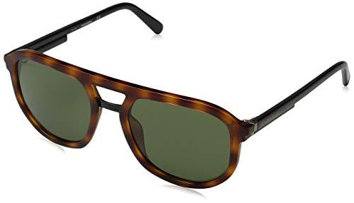 DSQUARED2 Evan Gafas de sol, Marrón (Dark Havana/Green), 54.0 para Hombre