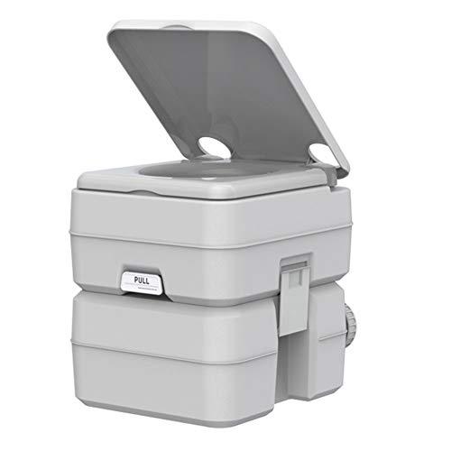 XYZA Toilette Portatile Mobile da Esterno Toilette Mobile Portatile da 20 Litri di Grande capacità Adatta per Campeggio All'aperto, Famiglia, Roulotte