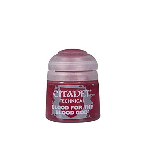 Games Workshop Citadel Pot de Peinture - Sangre Técnica para el Dios de la Sangre, 9918995600506