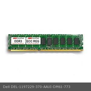 DMS Data Memory Systems Replacement for Dell 370-AAUI PowerEdge R620 4GB DMS Certified Memory DDR3-1600 (PC3-12800) 512x72 CL11 1.5v 240 Pin ECC Registered DIMM - DMS
