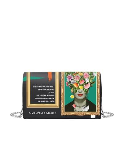 Alviero Rodriguez Borsa Frame Frida Flowers