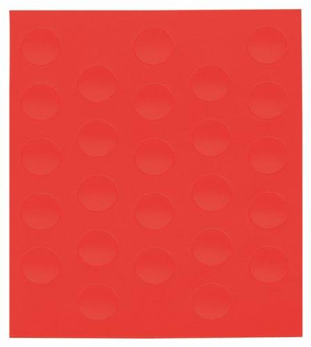 Franken M825 01 Accessoire pour tableau Board magnet - Accessoires pour tableau (Board magnet, Rouge, 0,002 kg, 10 mm, 10 mm, 50 pièce(s))