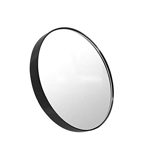 GJSN Miroir de Courtoisie de Maquillage, Miroir de Maquillage Grossissement 5X Hd, Loupe de Beauté En Plastique Abs,8 Cm