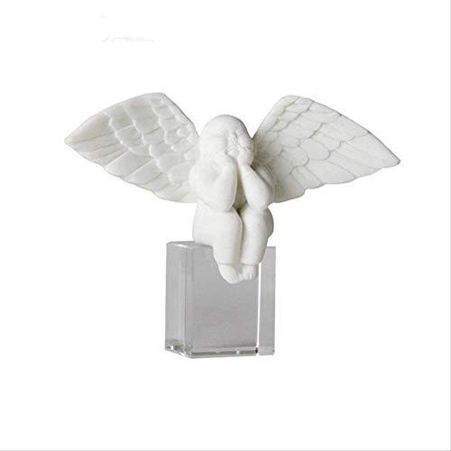LXYZ Adornos de estatuas para el hogar, Piedra Arenisca para Hombre, decoración del hogar, decoración artística, Escultura, Manualidades de Resina Retro