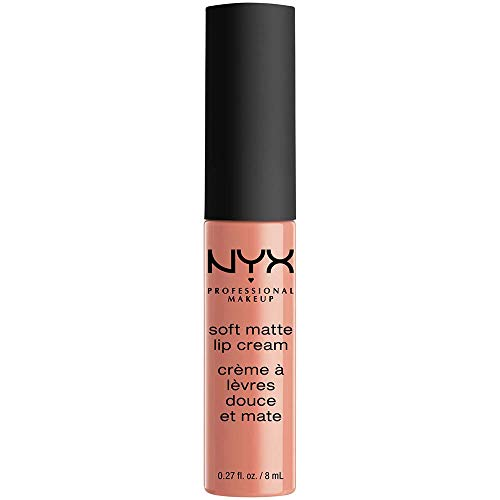 NYX Soft Matte Lip Cream, Buenos Aires, 1er Pack (1 x 8 ml)