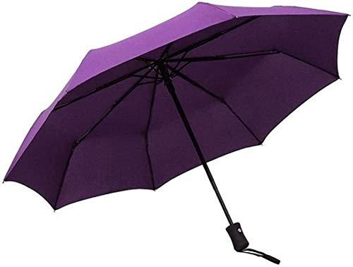 Regenschirm Kleine Frische Dreifache Sonnenschutz Sonnencreme Wasserdicht Kleine Robuste Winddichte Tragbare Lampe Anti-ultraviolett-reiseschirm Faltbare Markise Automatische Markise-c Regenschirm