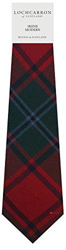 I Luv Ltd Gents Neck Tie Skene Modern Tartan Lightweight Scottish Clan Tie