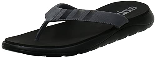 adidas Comfort Flip Flop, Chanclas Hombre, NEGBÁS/Gricin/Gricin, 44 2/3 EU