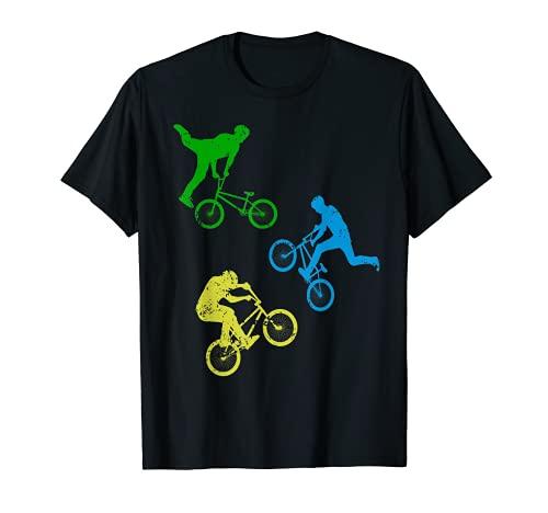 BMX Bike Fahrrad Downhill Stunts - Kinder Jungen Dirt Biking T-Shirt
