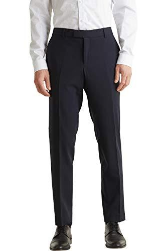 ESPRIT Collection Herren 990EO2B303 Anzughose, Blau (Dark Blue 405), W(Herstellergröße: 50)