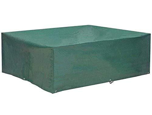 EASTERNSTAR Copertura per mobili da Giardino, Copertura per Il Patio, Copertura di Protezione Impermeabile Rettangolare o Quadrata per tavoli e sedie (200x160x70 cm)