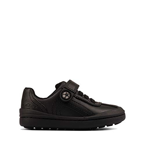 Clarks Kid Rock Pass School Shoe