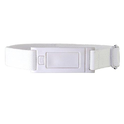 Beltaway Narrow Skinny Belt White