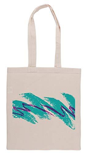 Luxogo 90s Solo Jazz Tasse Einkaufstasche Groceries Beige Shopping Bag
