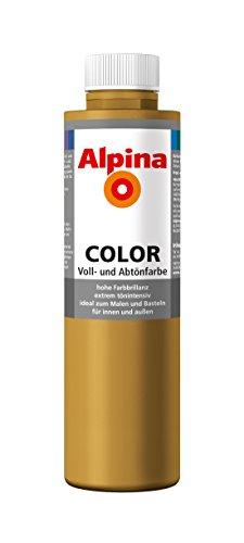 Alpina Farben Voll und Abtönfarbe Wandfarbe Alpina Color Farbton Sahara Brown 750 ml