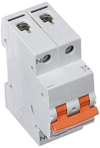 Legrand magnet./dif.vivienda - Magnetotermico vivienda rx3 1 polo+neutro 6ka 25a