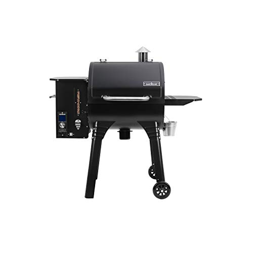 Camp Chef 24 in. WIFI SmokePro SG Pellet Grill & Smoker – WIFI & Bluetooth Connectivity (Black)