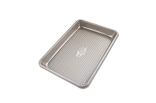 USA Pan Bakeware Mini Sheet Warp Resistant Nonstick Baking Pan, Aluminized Steel