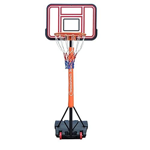 LYYJIAJU Aro de Soporte de Baloncesto portátil Hoop de Baloncesto Adulto para niños, Soporte de Baloncesto portátil al Aire Libre con Tablero y Kit de Canasta, fácil de Instalar
