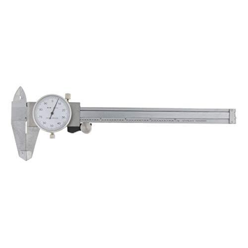 Sharplace Micrómetro de Calibre Calibrador de Dial Caliper Herramienta de Laboratorio Equipo Trabajo