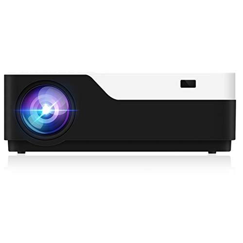 Heaviesk M18 1080p Full HD-3D-Heimkino-Projektor 5500 Lumen LED-Videospiel Proyector India 1920X1080 Cinema Beamer