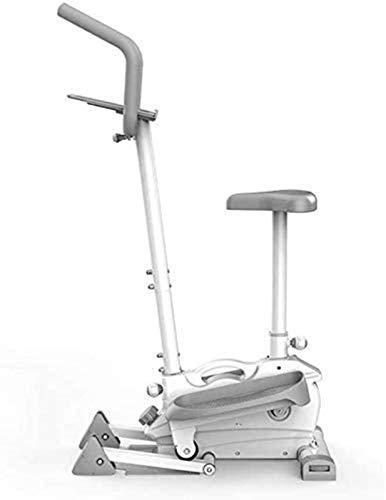 DSHUJC Macchine per Cross Trainer, Ellittica 2019 Resistenza Magnetica Elettronica 10KG Volano unidirezionale Console Display Supporto per Tablet Fitness Cardio Allena